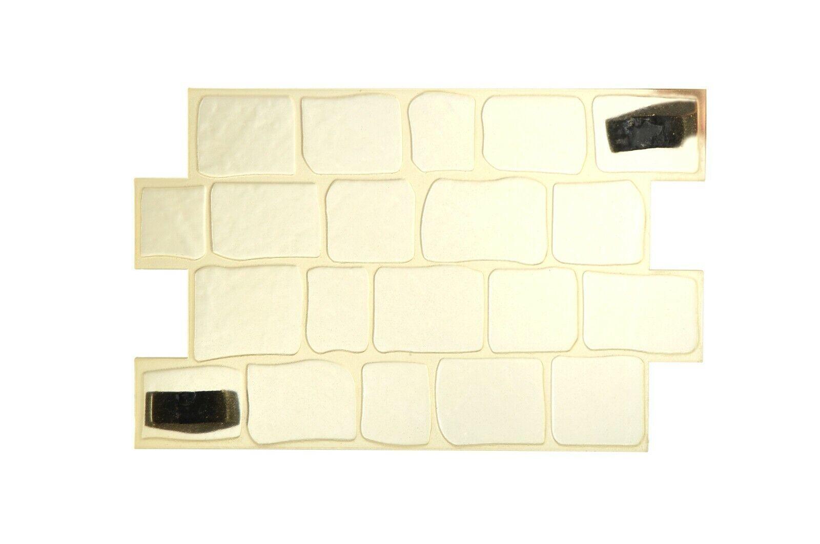 3D Paving Stone Pattern Grünical Horizontal Decorative Concrete Cement Stamp