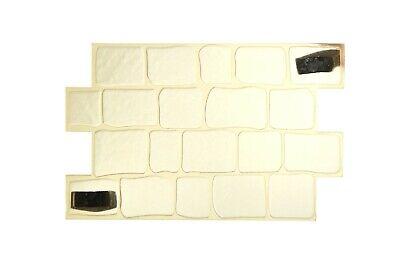 3D Paving stone motif Vertical Horizontal De Béton Décoratif Ciment STAMP