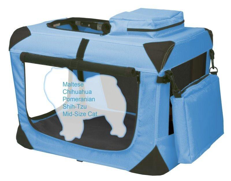 Pet Gear Generation II Deluxe Portable Soft Crates in Five Größes with fleece pad