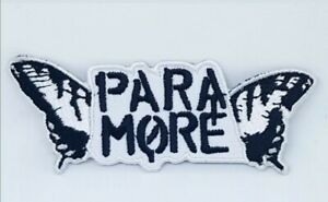 New Paramore iron Sew on Embroideredpatch badge j1031