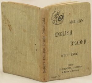 MODERN-ENGLISH-READER-DUCRUET-GIBB-DICKENS-ANTOLOGIA-INGLESE-DOYLE-WELLS-SCOTT