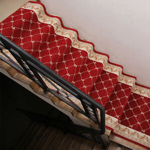 Ordinaire Details About Redu0026Brown 3FT U00264FT Width Non Slip Hall Stair Runner Purchase  By The Linear Foot
