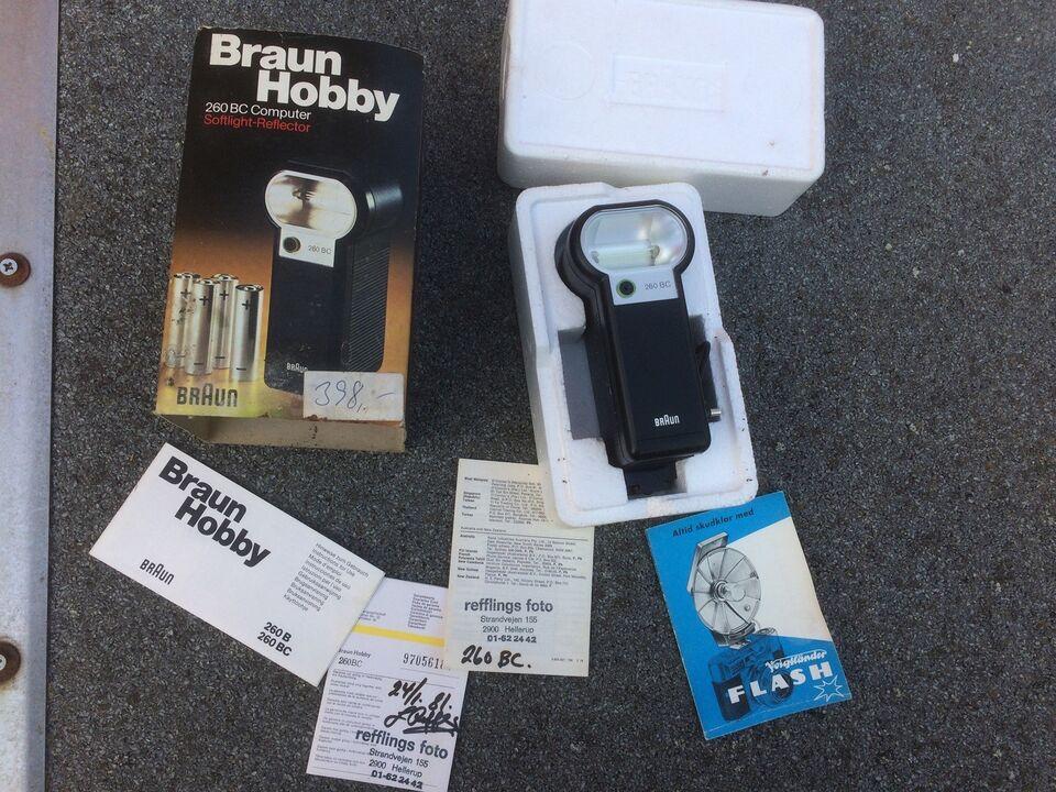 Foto, Braun blits