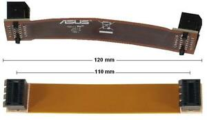 Magasiner Pour Pas Cher Asus 12 Cm Sli Bridge Pont Flexible 120 Mm De Long Nouveau Neuf Dans Sa Boîte-afficher Le Titre D'origine Fabrication Habile