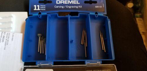 Dremel Carving//Engraving Mini Accessory Kit 689-03