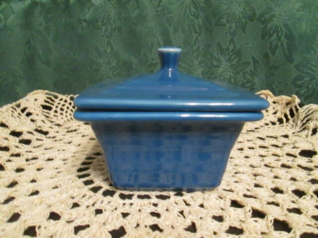 Fiesta Ware Lapis Blue Belk Exclusive Square Covered