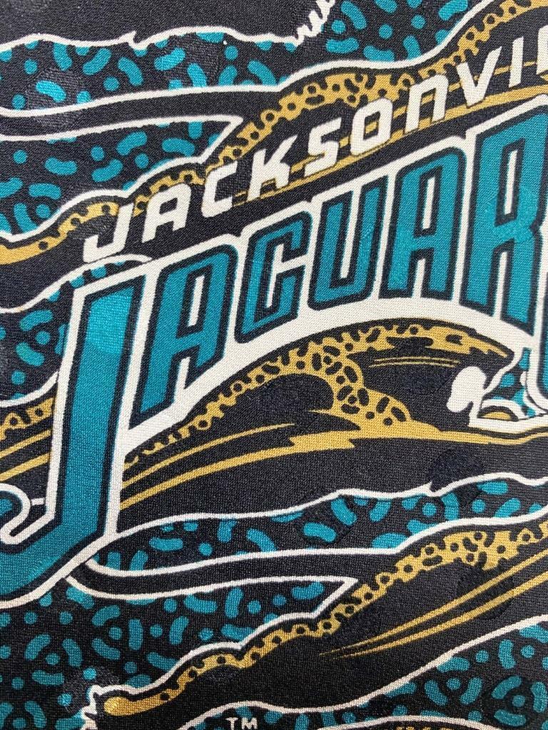 RM Sport Jacksonville Jeguars Schwarz Blaugrün Krawatte MFE1021A #B27