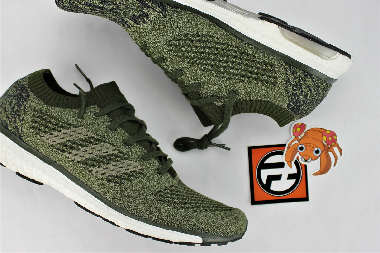 reputable site 393be 3b903 Adidas Adizero Prime LTD LTD LTD Night Cargo Olive Größe 10.5 BA7936 5333c7