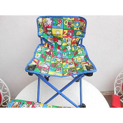 Kinder Camping Stuhl zusammenklappbar mit Tragehülle Outdoor Klappstuhl