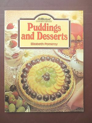 Vintage Cook Book PUDDINGS & DESSERTS Recipes Cookery RETRO St Michael 1980s
