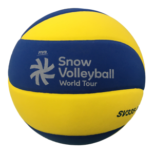 MIKASA SV335-V8 Snow Volleyball World Tour FIVB Approved Official game ball