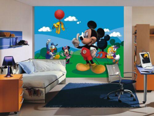 DISNEY papier peint Papier Peint De Chambres d/'Enfants Mickey Mouse Design Photo Premium