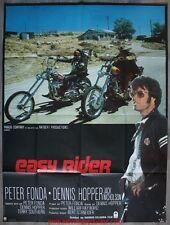 EASY RIDER Affiche Cinéma Movie Poster 160x120 ORIGINALE Dennis Hopper
