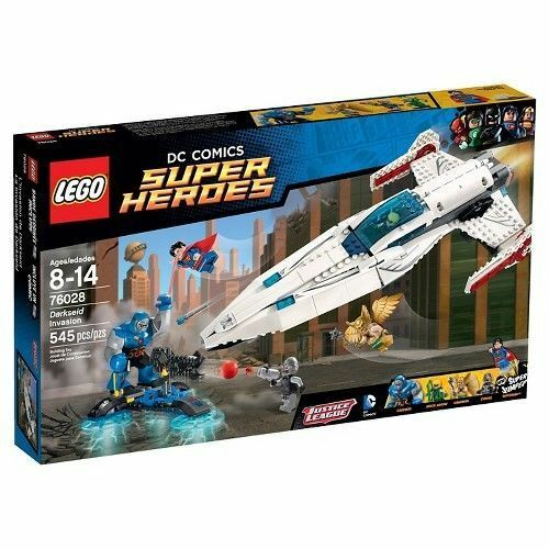 76028 Darkseid Ivasion LEGO New DC Super Heroes legos Superman Hawkman Cyborg