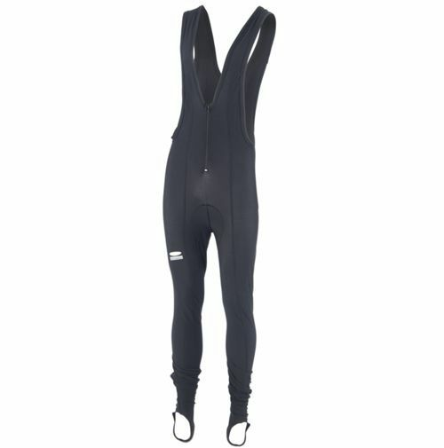 NEW Lusso Super Roubaix Thermal Cycling Bib Tights Small S Fleece Breathable NOS