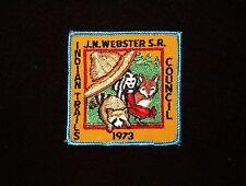 BOY SCOUT   J.N. WEBSTER SCOUT RES  1973 PP  INDIAN TRAILS CNCL   CT.