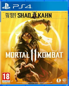 Mortal-Kombat-11-includes-Shao-Kahn-DLC-PS4-Game-BRAND-NEW-SEALED