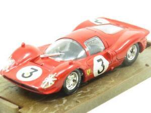 Brumm-Diecast-R159-Ferrari-330-P4-Howard-Phillips-450-Rojo-1967-1-escala-43-En-Caja