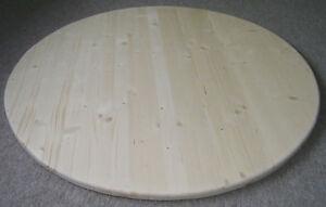 Rund-Tischplatte-120-cm-27mm-Stark-3-Schicht-Naturholz-Fichte