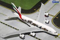 Gemini Jets Emirates Wildlife 3 Airbus A380-800 1:400 Die-cast Model Gjuae1594