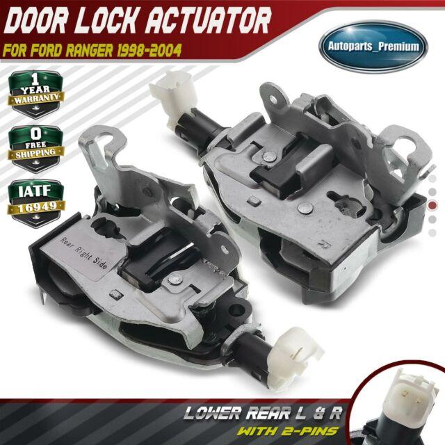 Pair Kit Door Latch Lock Assembly Lower Rear Left  U0026 Right