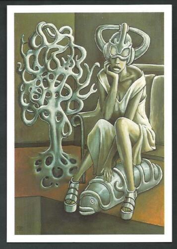 Branko Farak cartolina invito a Mostra del novembre 2000 Transoptic