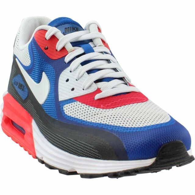 finest selection e991e c99b3 Nike Air Max Lunar90 C3.0 Grey Blue Mens Running Shoes SNEAKERS 90 ...