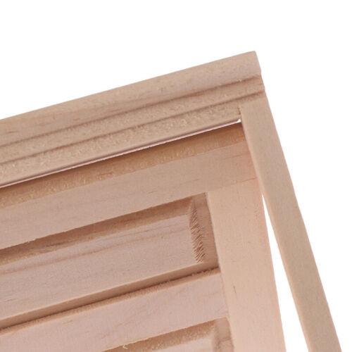 1:12 Dollhouse Miniature Simulation DIY Wooden Spire Doors Furniture Accessories