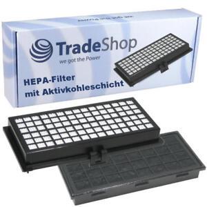 2x HEPA Mikrofilter Aktivkohle ersetzt Miele SF-HA30 SF-AH30 SF-AA30 7226160