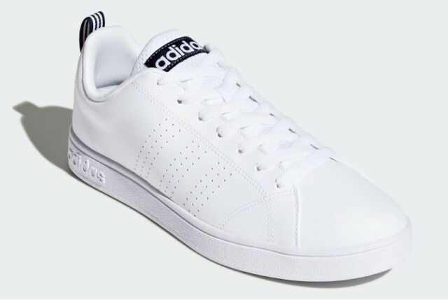 Araña modo Administración  adidas Neo Advantage Clean VS Mens Tennis Trainers / Sports Shoes - White  for sale online | eBay