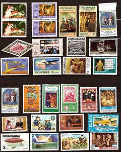 NICARAGUA-Usos-corrientes-y-temas-diversos-sellos-nuevos-345A