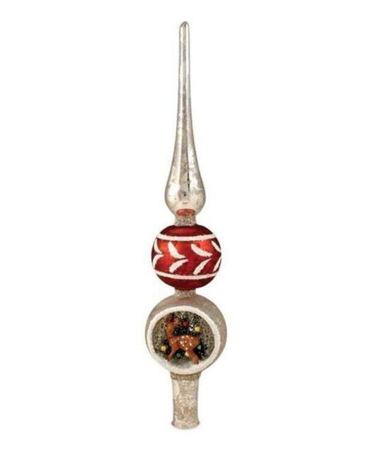 Does Lowes Sell Christmas Trees: Bethany Lowe Vintage Christmas Mercury Glass Diorama Tree