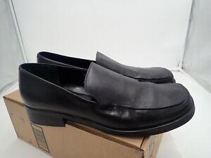 Franco-Sarto-Women-039-s-Bocca-leather-Loafer-Black-12-M
