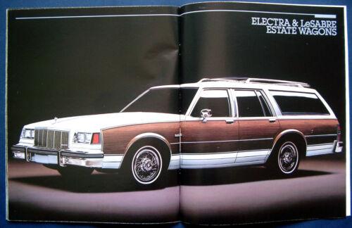 PROSPEKT BROCHURE 1988 Buick Electra Riviera LeSabre Park Avenue USA