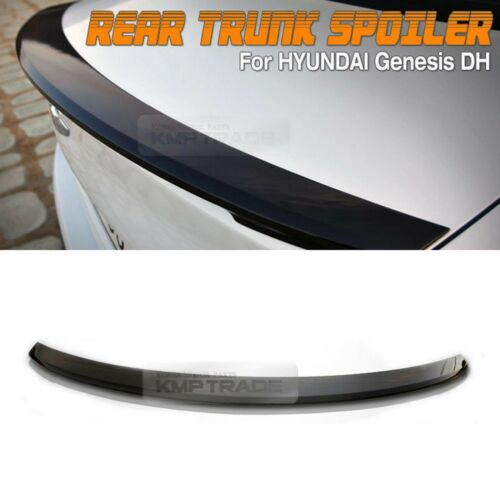 Rear Trunk Spoiler Lid Trim Black Painted for HYUNDAI 2015-2016 Genesis Sedan