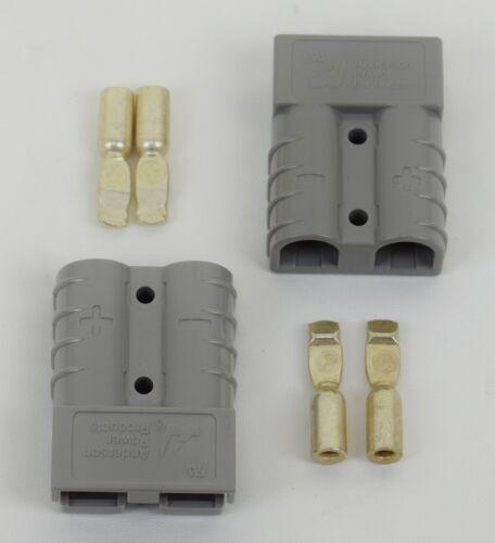 QUICK CABLE 124101-001 10-12 GA CRIMP KIT 50 AMP GRAY Anderson Pwr 2 Units