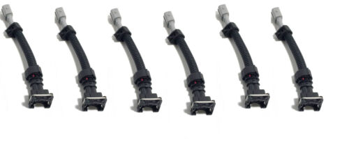 ev1 to obd1 fuel injector wiring harness for toyota plug /& Play adapters 6pcs