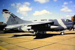 3-752-Vought-F-8-Crusader-United-States-Air-Force-AF-70-HA-008-Kodachrome-SLIDE
