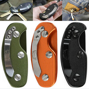 EDC-Aluminum-Key-Holder-Organizer-Clip-Folder-Keyring-Keychain-Case-Pocket-SP