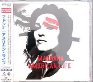Madonna-CD-American-Life-Japan-M-M-Scelle