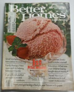 Better Homes And Gardens Magazine Filet Crochet Ice Cream
