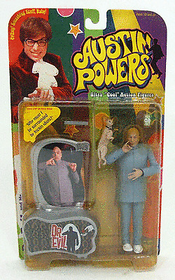 """Factory Sealed Series 2 Austin Powers 6"""" Action Figure"""