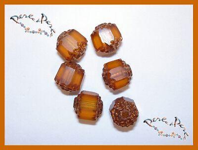 100 perles à écraser cuivre vieilli diam.ext.2.5mm.