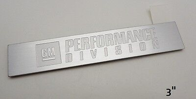 "2010 2011 2012 2013 2014 2015 2016 2017 CAMARO /""GM PERFORMANCE DIVISION/"" Emblem"