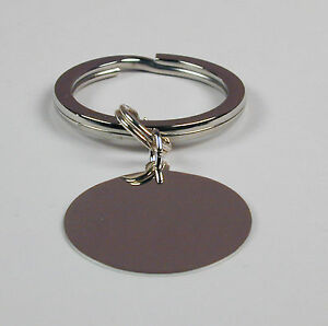 Key-Ring-with-Engravable-Sterling-Silver-Disk-Free-Shipping