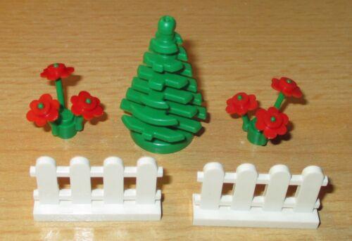 Lego City Zubehör kleiner Vorgarten