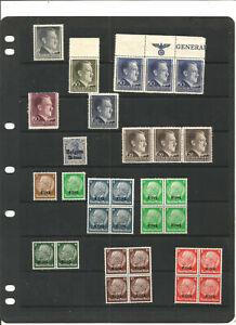 TOP-NEEWS-tres-beau-lot-de-timbres-REICH-mnh-3-scans
