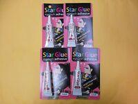4 Star Eyelash Glue Clear Adhesive 1/4 Oz - Free Ship