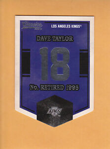 2012-13-CLASSIC-SIGNATURES-BANNER-NUMBERS-EN38-DAVE-TAYLOR-LOS-ANGELES-KINGS