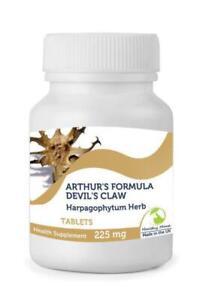 DEVIL-039-S-CLAW-Arthurs-Formula-Herb-225mg-250-Tablets-British-Quality